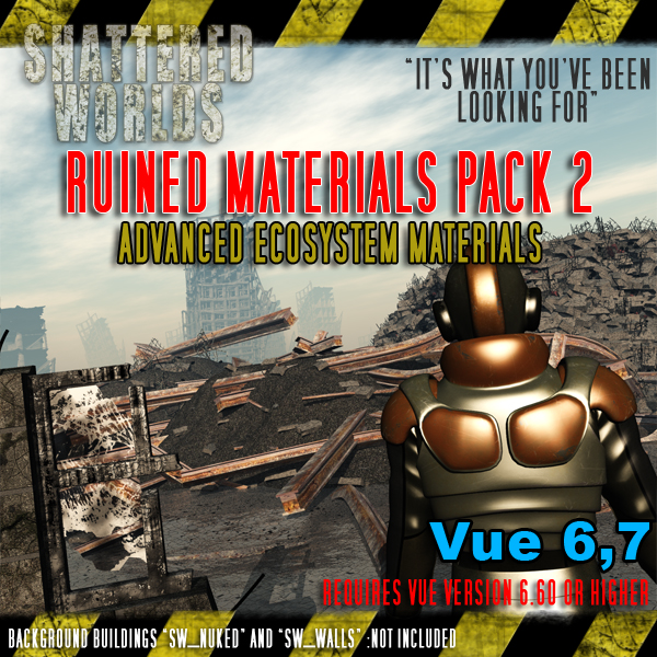 SW_Ruined Materials Pack 2, Advanced Ecosystem Materials