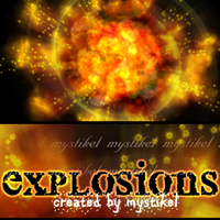 Explosions Themed 2D And/Or Merchant Resources mystikel