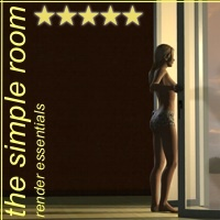 The Simple Room - Render Essentials 3D Figure Assets 3D Models 3-d-c