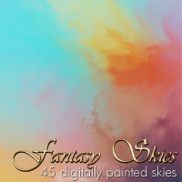Fantasy Skies 3D Models 2D Graphics designfera
