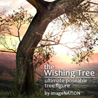 the Wishing Tree Props/Scenes/Architecture winnston1984