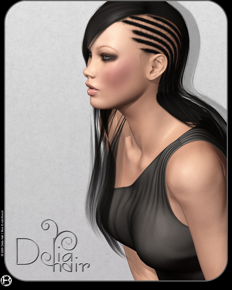 Delia Hair by outoftouch