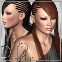 Delia Hair 3D Figure Essentials outoftouch