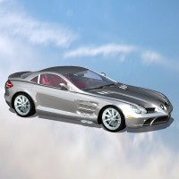 Silver Wing Car by DreamerZ_Loft
