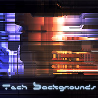 Tech Backgrounds 3D Models 2D Graphics designfera