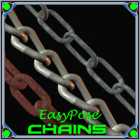 EasyPose Chains 3D Models Ajax