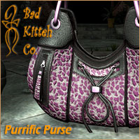Purrific Purse 3D Figure Essentials 3D Models BadKittehCo