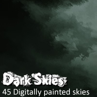 Dark Skies 3D Models 2D Graphics designfera