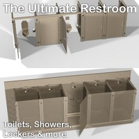 The Ultimate Restroom by 3-D-C image 1