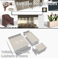 The Ultimate Restroom by 3-D-C image 2