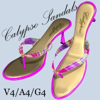 Calypso Sandals For V4/A4/G4 by DreamerZ_Loft