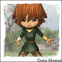 Cookie Adventure 3D Figure Essentials 3D Models SilverElf_SE