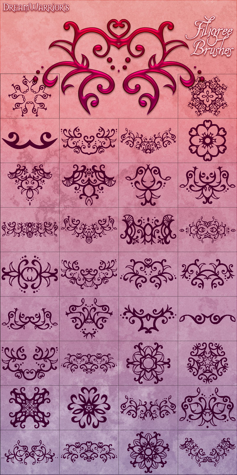 DW - Filigree Brushes 1