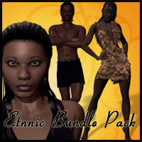Ethnic Bundle Pack Clothing Characters Subgraphick