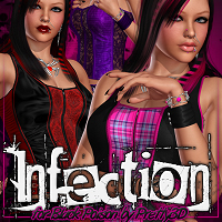 Infection for Black Poison Clothing ShanasSoulmate
