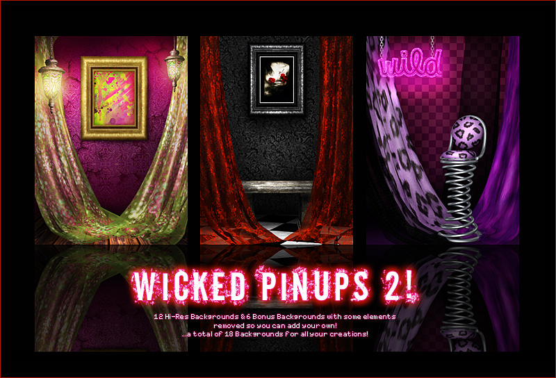 Wicked Pinups 2!