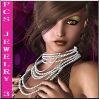 Pc's Jewelry Vol. 3 3D Figure Assets RPublishing