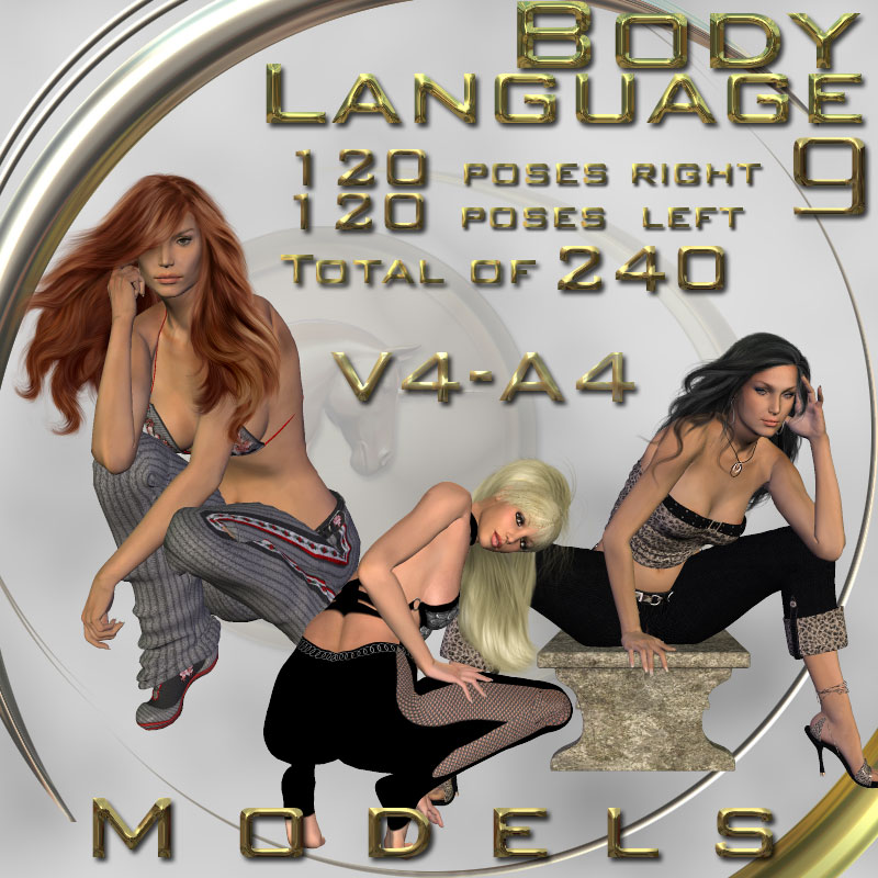 Body Language 9 - Models - V4-A4