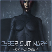 Cyber Suit Mark II 3D Figure Assets Ra Graphics