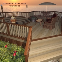 Designer Decks by SAMS3D