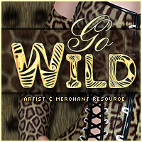 Merchant Resource: Go Wild! 2D Graphics Merchant Resources Sveva