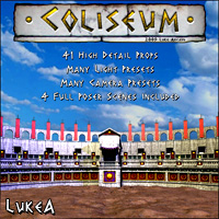 The Coliseum 3D Models LukeA