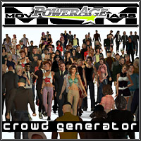 M.O.M Crowd generator by powerage
