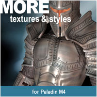 MORE Textures & Styles for Paladin M4 Themed Clothing Software motif