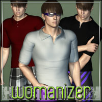 HIGHFASHION: Womanizer for M4/H4 3D Figure Assets outoftouch