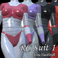 RC Suit 1 3D Figure Essentials HardStuff