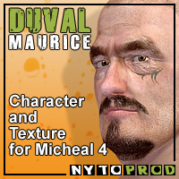 Duval for M4 by Nathalie_