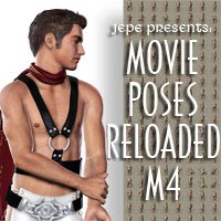 Jepe's Movie Poses Reloaded M4 3D Figure Essentials Jepe