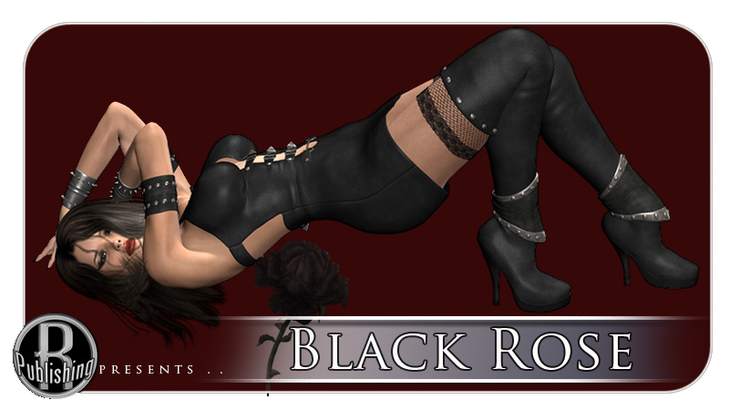 Black Rose Gothic Clothing for V4