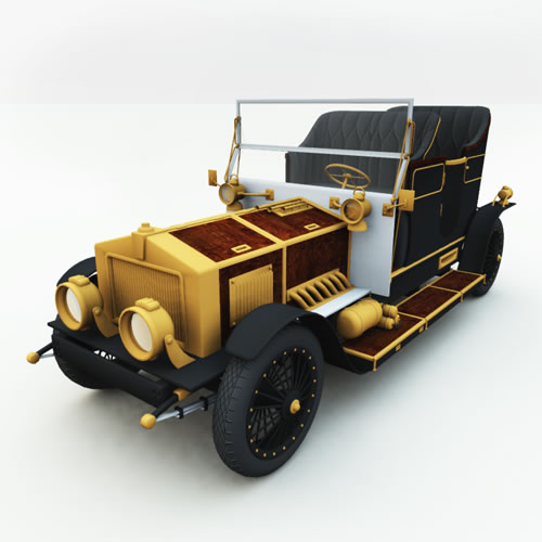 Steampunk Automobile for Bryce