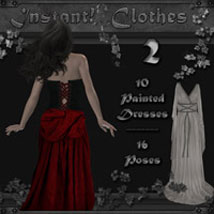 Instant! Clothes 2 Poses/Expressions 2D And/Or Merchant Resources Themed ilona