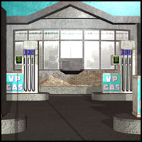 Abandoned Station (3DS, LWO, Poser, Obj & Vue) 3D Models RPublishing