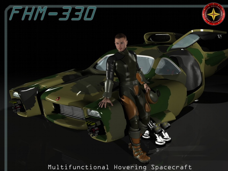 FHM-330 - SciFi Vehicle