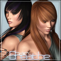 Breathe Hair 3D Figure Assets outoftouch