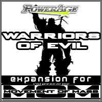 M.O.M Warriors Of Evil 3D Models 3D Figure Assets powerage