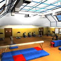 School Gym image 2