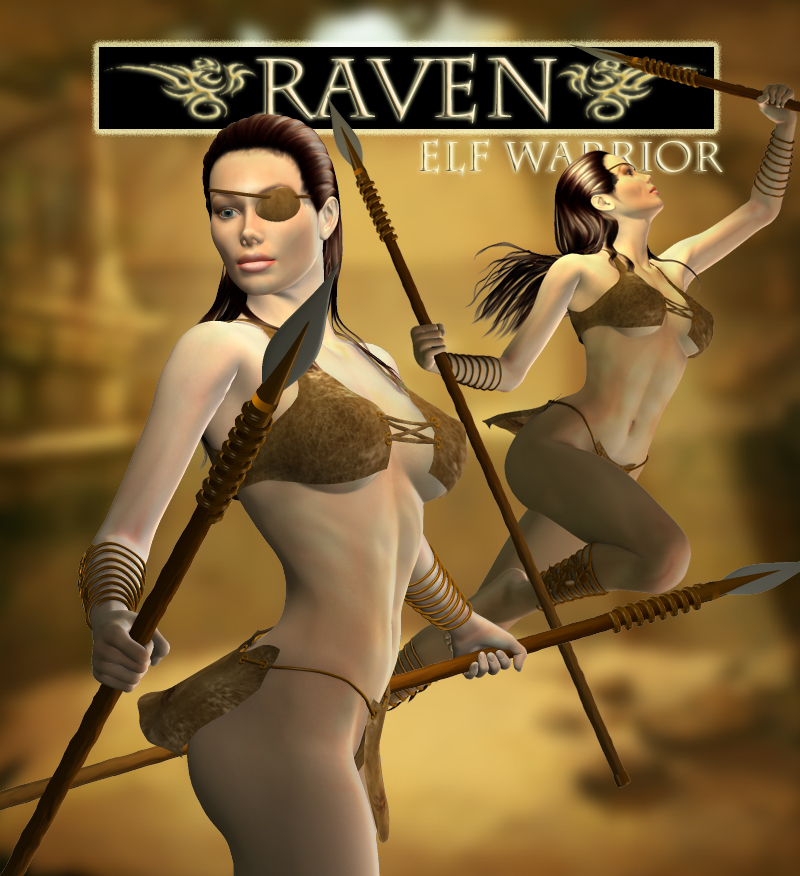 Raven Elf Warrior