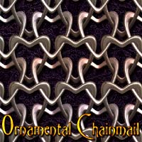 Ornamental Chainmail 2D And/Or Merchant Resources designfera