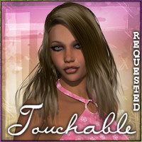 Touchable Pretty Long Hair Hair -Wolfie-