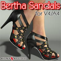 Bertha Sandals for V4/A4 Footwear Clothing kony