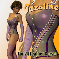 Gazoline for V4 Leather Corset  zachary