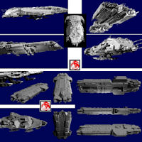 2009 CARRIER AND DROPSHIP 3D Models rj001