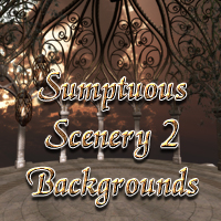 Sumptuous Scenery II Themed 2D And/Or Merchant Resources Props/Scenes/Architecture dantescanto