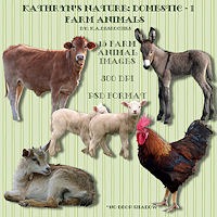 KN-Domestic-1FarmAnimals by TheKatster