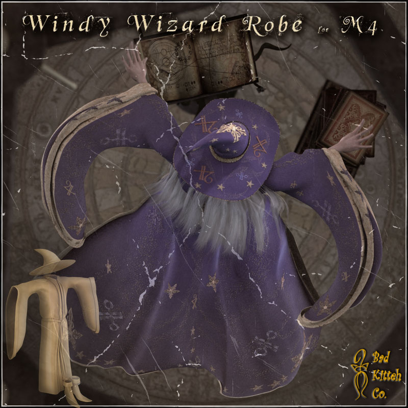 M4 Windy Wizard Robe