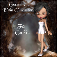 Gossamer For Cookie 3D Figure Essentials Porthos